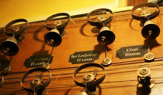 Tyntesfield servants bells