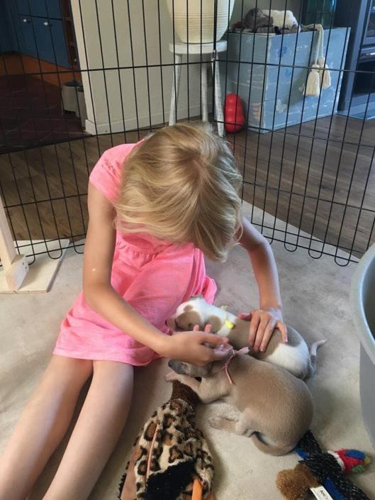 Eerste puppiebezoek